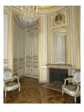 Opéra royal du château de Versailles : le boudoir du Roi