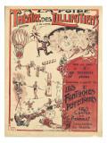 Affiche  la foire théâtre des Lilliputiens