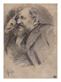 Portrait of Ernest Hosched' (1837-1891) Art Collector and Critic