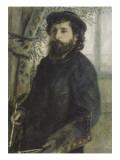 Portrait de Claude Monet (1840-1926)  peintre