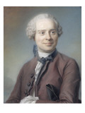 Portrait de Jean Le Rond d'Alembert (1717-1783)  philosophe