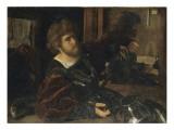 Autoportrait  dit autrefois portrait de Gaston de Foix