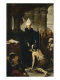Saint Thomas de Villanueva donnant l'aumône