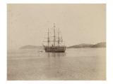 Le voilier l'Aïda en rade de Villefranche