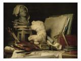 Les Attributs de la peinture  de la sculpture et de l'architecture