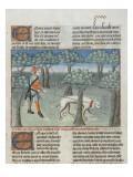 Le Livre de la chasse de Gaston Phébus : manière de chasser le cerf dans la forêt