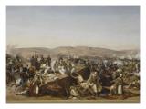 Prise de la Smala d'Abd-el-Kader par le duc d'Aumale à Taguin   le 16 mai 1843