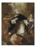 Saint Dominique s'élevant au-dessus des passions humaines