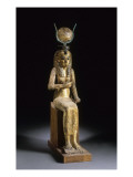 Statue of the Goddess Isis Suckling the Child Horus