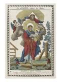 Saint Joseph  époux de Marie