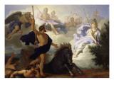 La dispute de Minerve et de Neptune pour savoir qui des deux donnera son nom à la ville d'Athènes