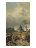 Prise de Philippsburg par  maréchaux d'Asfeld et de Noail (Adrien Maurice) 18 juillet  1734
