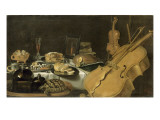 Nature morte aux instruments de musique