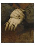 Etude de mains de femme (d'après le portrait de Maddalena Doni de Raphaël)