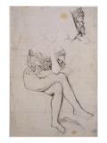 Etude pour le portrait de la baronne James de Rothschild