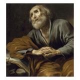 Saint Pierre repentant Giclée par Claude Vignon