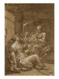 Saint Pierre visitant sainte Agathe dans sa prison