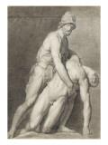 Etude de deux statues antiques