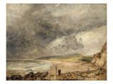 La Baie de Weymouth à l'approche de l'orage