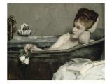 The Bath, also Said the Woman in the Bath or Shower Giclée par Alfred Emile Léopold Stevens