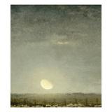 Parc outons, clair de lune Giclée par Jean-François Millet