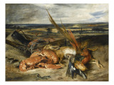 Tableau de nature morte dit Nature morte au homard