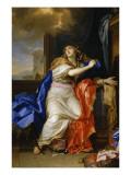 Sainte Madeleine repentante renonce à toutes les vanités de la vie