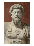 Statue of Marcus Aurelius  Emperor from 161-180 Ad