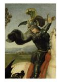Saint Georges luttant avec le dragon