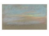 Etude de ciel Giclée par Edgar Degas