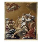 Saint Eustache et sa famille porté au ciel dit aussi L'Apothéose de saint E