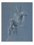 Etude d'homme assis