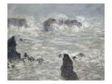 Tempête  côtes de Belle-île