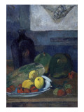 Nature morte au dessin de Delacroix
