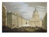 Prise du Panthéon  le 24 juin 1848