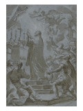 Saint Philippe de Néri célébrant la messe