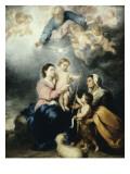 La Sainte Famille  dite la Vierge de Séville