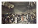Le serment du jeu de Paume  le 20 juin 1789