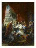 La dernière communion de Saint Louis à Tunis  1270