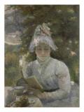 Le goûter Portrait de Louise Quivoron  soeur de l'artiste
