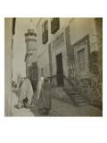 Voyage en Tunisie : scène de rue à Tunis