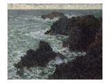 Les rochers de Belle-île  la Côte sauvage