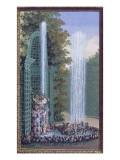 Le labyrinthe de Versailles d'après S Leclerc