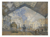La gare Saint-Lazare