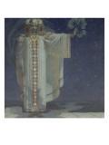 La Prophétesse Libuse  reine de Bohême de 700 à 738 environ