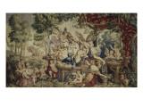 La Galerie de Saint-Cloud Le printemps ou le mariage de Flore et de Zéphyr