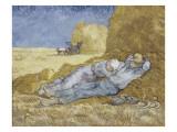 La méridienne ou la sieste (d'après Millet)