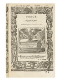 Les emblèmes d'Alciat  Lyon  1549