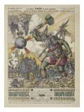Le dieu Thor la plus barbare d'entre les barbares divinités de la vieille Germanie