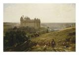 Le Château de Pierrefonds en restauré